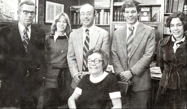 The Ballantine Family. Photograph provided by: BCI.